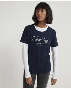 Alice Lounge Tee Rinse Navy