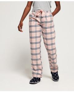 Millie Loungewear Pant Pink Check