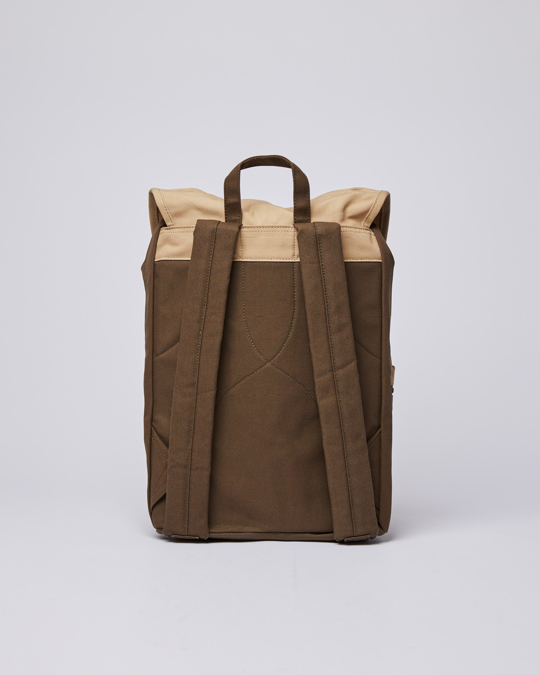 Sandqvist Roald Multi Olive / Beige With Natural Leather