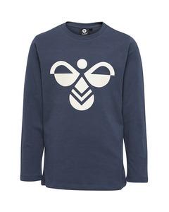 Hmlharper T-shirt L/s Blue Nights