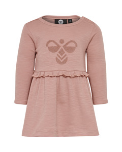 Hmlberit Dress L/s Ash Rose