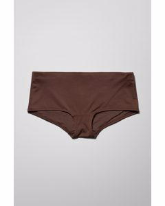 Ava Hipster Swim Bottoms Brown