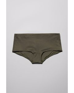 Ava Hipster Swim Bottoms Green