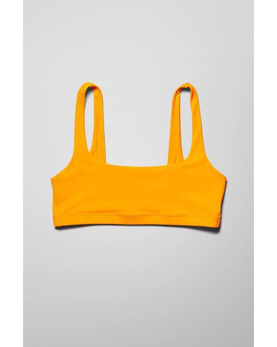 Weekday Desert Swim Top Yellow