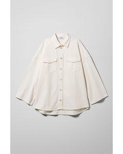 Samson Denim Shirt White