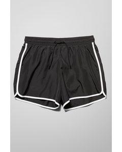 Tan Swim Shorts Black