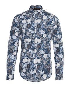 6200105, Shirt - Tyler Ls Bu Floral Insignia B