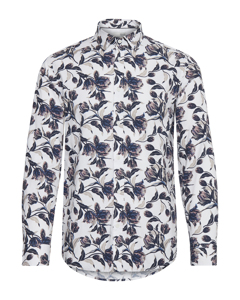 6200108, Shirt - Tyler Ls Bu Bloom White