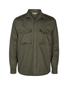 6209111, Jacket - Hoban Overshirt Dusty Oliv