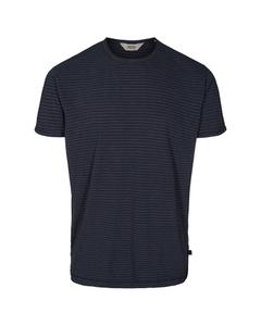 6204150, T-shirt - Fablin Ss Stripe Black