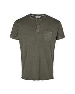 6204111, T-shirt - Hannibal Grandad Ss Dusty Oliv