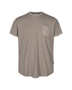 6204133, T-shirt - Henrik Aop Ss Chateau Gr