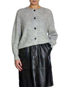 Selected Femme Kofta Lulu Short Ligh Grey