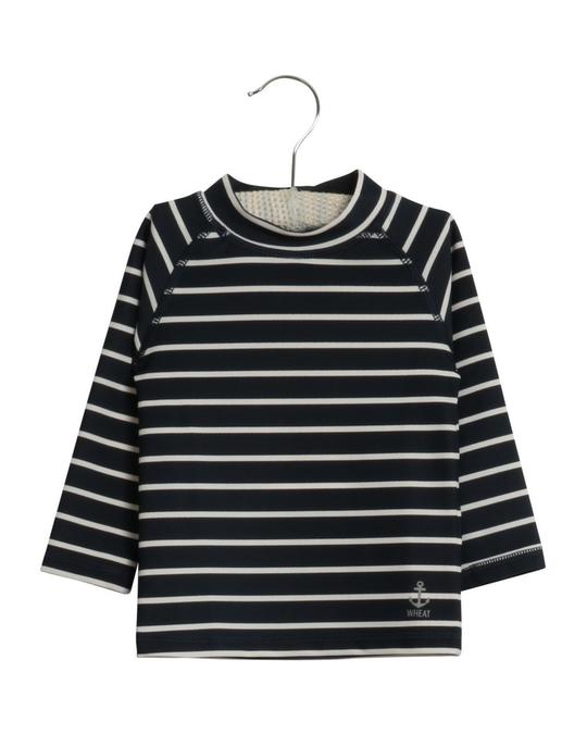 Wheat Swim T-shirt Dilan Ls Navy