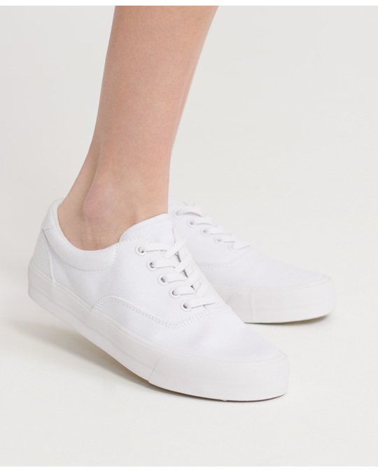 Superdry Classic Lace Up Trainer Optic