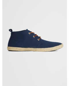 Skipper Chukka Shoe Dark Navy Heavy Canvas