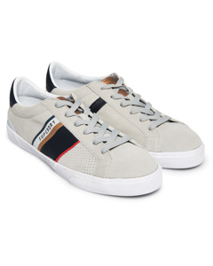 Vintage Court Trainer Retro Off White/dark Navy/gold