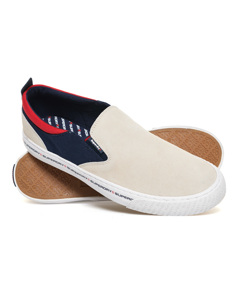 International Slip On Off White/navy/red
