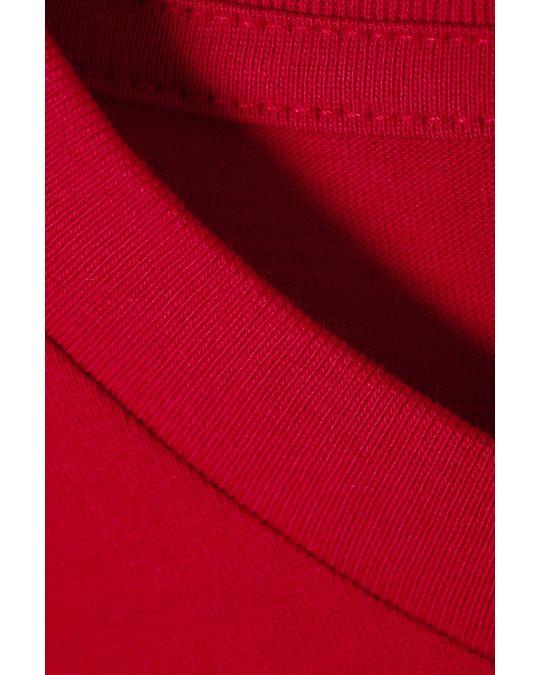 Weekday Alan T-shirt Red