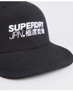 6 Panel Soft Cap Black