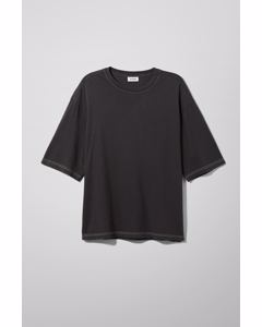 Noah Overdyed T-shirt Black