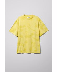 Great Tie Dye T-shirt Yellow