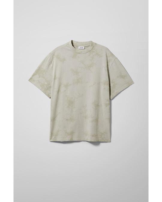 Weekday Great Tie Dye T-shirt Grey