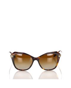Bvlgari Square Tinted Sunglasses Brown