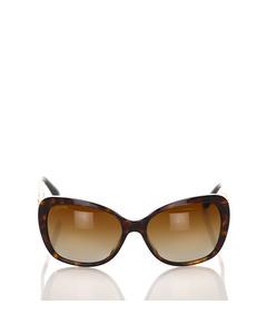 Bvlgari Cat Eye Tinted Sunglasses Brown