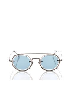 Armani Round Tinted Sunglasses Blue