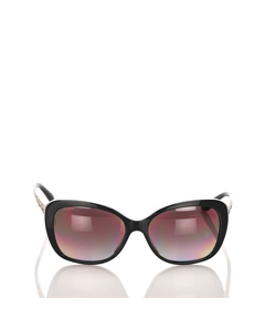 Bvlgari Cat Eye Tinted Sunglasses Black