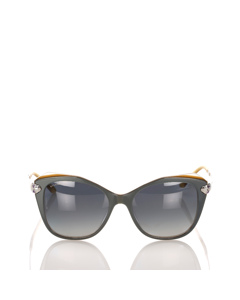 Bvlgari Square Tinted Sunglasses Gray