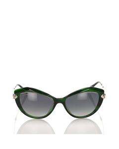 Bvlgari Cat Eye Tinted Sunglasses Black