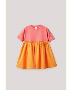Curtain Dress Orange