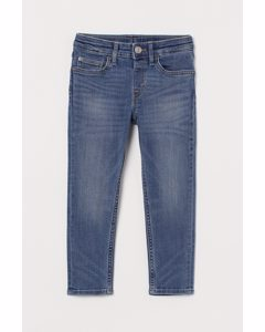 Relaxed Tapered Fit Jeans Blau
