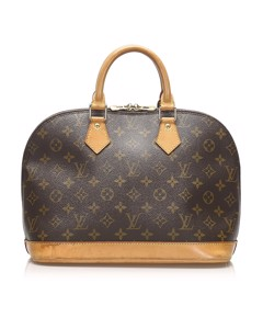 Louis Vuitton Monogram Alma Pm Brown