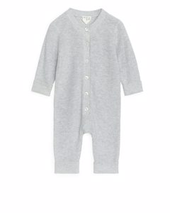 Knitted Overall Grey Melange