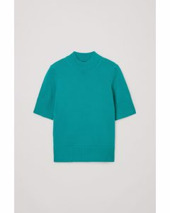 Knitted Organic Cotton Top Green
