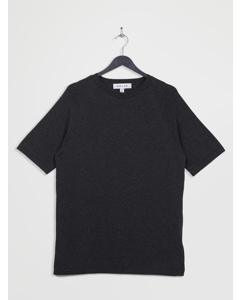 100% Recycled Knitted Lounge T-shirt Dimgray