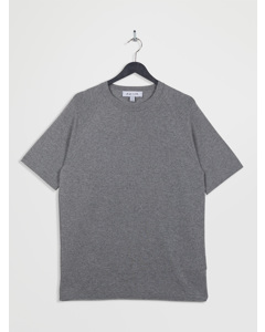100% Recycled Knitted Lounge T-shirt Grey