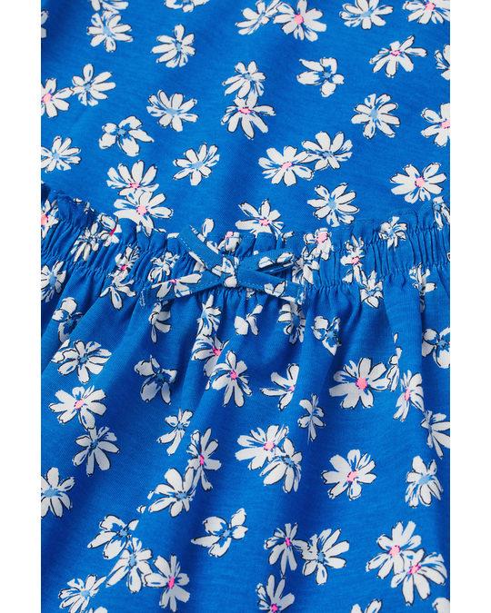 H&M 2-piece Cotton Set Blue/floral