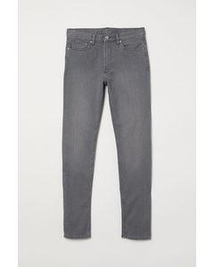 Slim Jeans Grau