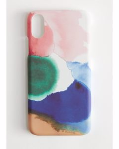 iPhone-Hülle mit Aquarell-Print iPhoneX