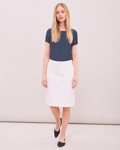 Denim Twill Skirt