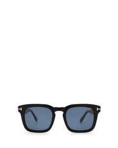 Ft0751 Shiny Black Solglasögon