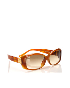 Louis Vuitton Round Tinted Sunglasses Brown