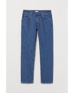 Regular Jeans Blau