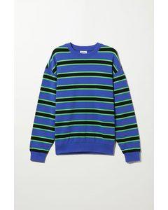 Ovie Striped Sweatshirt Blue