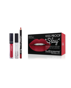 Bellapierre Kiss Proof Slay Kit - Hothead