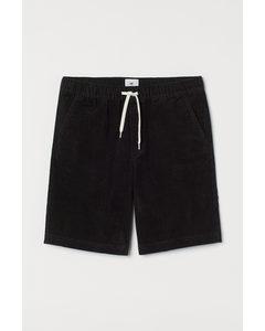 Shorts I Manschester Svart